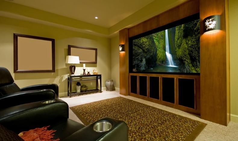 Wonderful Hometheatreroom09. Home Theatre Room ...